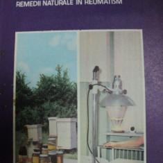 PRODUSELE APICOLE SI ALTE REMEDII NATURALE IN REUMATISM- D.C. JARVIS, 1987