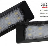 Lampa numar LED Audi Q5, A4, A5, S5, TT VW Passat 5 USI - Led auto, Q3