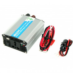 Invertor auto 300W - USB - GARANTIE 12 LUNI