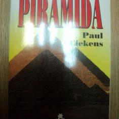 EFECTUL DE PIRAMIDA de PAUL LIEKENS, 1997 - Carte Hobby Ezoterism