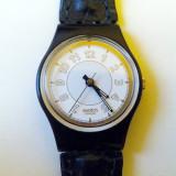 Ceas dama Swatch, Sport, Quartz, Piele, Analog, 1970 - 1999 - CEAS Swatch RAISSA LB131