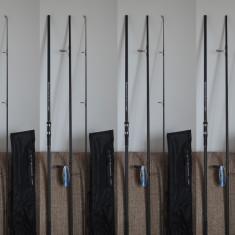 Lanseta - Set 4 Lansete Pokee Superior Carp 3, 60 din 3 bucati 5 LBS Super Recomandata pentru Crap New Generation Model Mandrina Fuji