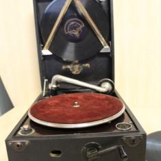 Patefon Columbia MagicNotes; Fonograf fara palnie de rezonanta; Gramofon