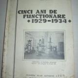 C.F.R INSTITUTUL TEHNOLOGIC = CINCI ANI DE FUNCTIONARE 1929-1934 - Carti Transporturi