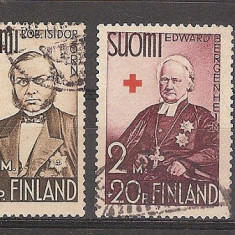 Finlanda, 1938, Crucea Rosie, personalitati, seria stampilata, An: 1930, Medical