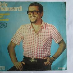 RAR! VINIL L.P. SERIA JAZZ NR.10 TRIO MANUSARDI IMPRESII DIN VACANTA - Muzica Jazz electrecord