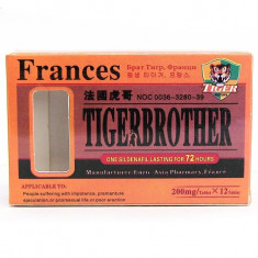 Tiger Brother, 10 pastile, calitate exceptionala.