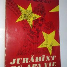 Juramant pe apa vie – Florin Muscalu Ed. Junimea 1977 - Carte poezie copii