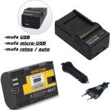 PATONA | Incarcator 4in1 USB + Acumulator compatibil Canon LP-E6 LPE6 7D 5D 70D - Baterie Aparat foto