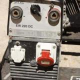 Generator curent, Generatoare sudura - Generator grup electrogen Honda + sudura monofazic trifazic 220 380