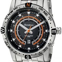 Armitron Men's 20 5015BKSV Orange   100% original, import SUA, 10 zile lucratoare a12107 - Ceas barbatesc Armitron, Quartz
