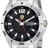 Ferrari Men's 0830094 Scuderia Analog | 100% original, import SUA, 10 zile lucratoare a32207 - Ceas barbatesc
