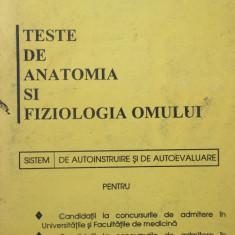 TESTE DE ANATOMIA SI FIZIOLOGIA OMULUI - A. Gheorghiu, M. Olaroiu
