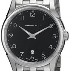 Hamilton Men's HML-H38511133 Jazzmaster Thinline   100% original, import SUA, 10 zile lucratoare a32207 - Ceas barbatesc Hamilton, Quartz