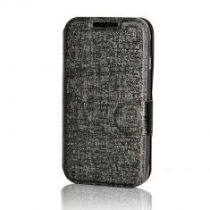 Husa Telefon - Husa Samsung Galaxy Trend 2 Lite G318 Lemontti Book Jelly Negru