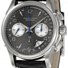 Hamilton Men's H32656785 Jazzmaster Chronograph | 100% original, import SUA, 10 zile lucratoare a32207 - Ceas barbatesc Hamilton, Mecanic-Automatic