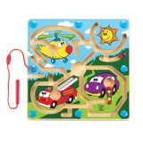 Hape Labirint Vehicule - Jocuri Stiinte