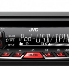 CD Player MP3 auto - Sistem auto JVC KD-R661EY, 1 DIN, AUX-in frontal; Compatibil Bluetooth