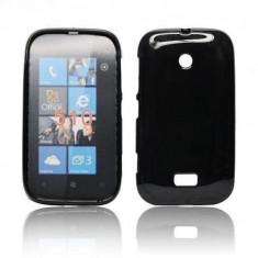 Husa Nokia Lumia 510 TPU Black - Husa Telefon Nokia, Negru, Gel TPU, Fara snur, Carcasa