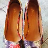 Pantofi cu platforma - Pantof dama, Marime: 36, Culoare: Din imagine