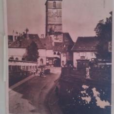 Sibiu Turnu Vechiu - Carte Postala Transilvania pana la 1904, Necirculata, Fotografie