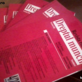 lot REVISTA ROMANA DE DREPTUL MUNCII - S  GHIMPU, ITSTEFANESCU