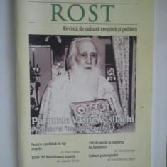 Carte religioasa - REVISTA DE CULTURA CRESTINA SI POLITICA - ROST 2010