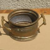 Metal/Fonta - Vas din bronz vechi/jardiniera