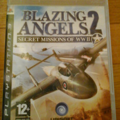 JOC PS3 BLAZING ANGELS 2 SECRET MISSIONS OF WW2 ORIGINAL / by WADDER - Jocuri PS3 Ubisoft, Simulatoare, 12+, Multiplayer