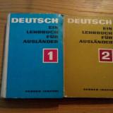 DEUTSCH EIN LEHRBUCH FUR AUSLANDER - 2 vol. , Leipzig, 1970, 615+363 p.