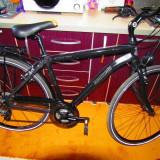 Bicicleta Citybike Mountainbike Lombardo Tochal 400 - Bicicleta de oras, 20 inch, 28 inch, Numar viteze: 21, Aluminiu, Negru