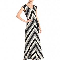 Superba rochie CALVIN KLEIN m-l noua adusa din SUA - Rochie de zi Calvin Klein, Culoare: Negru, Maxi, Fara maneca