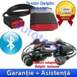 Tester Delphi DS150E cu Bluetooth + Cabluri turisme Autocom/Delphi - Garantie - Tester diagnoza auto