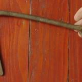 Veche cheie pentru usa / poarta din metal - realizata manual - model rar !!!!