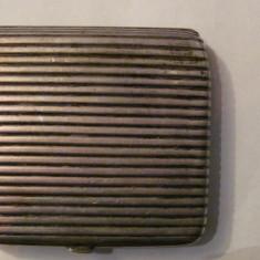 PVM - Tabachera splendida si veche argint marcaj 84 fabricata in Rusia 1894 - Tabachera veche