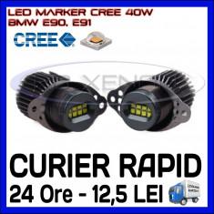 ANGEL EYES LED MARKER CANBUS - E90, E91 - 40W CREE High Power - ALB 6000K ZDM, Universal