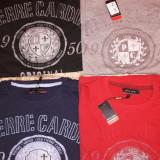 TRICOU PIERRE CARDIN 2+1 Lichidare de stoc. - Tricou barbati, Marime: S, M, L, Culoare: Albastru, Gri, Negru, Rosu