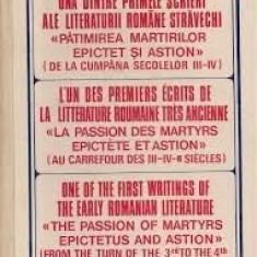 Primele scrieri ale literaturii stravechi-Patimirile martiri Epictet si Astion - Vietile sfintilor