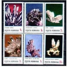 Flori de mina, 1985, seria completa, MNH - Timbre Romania, Natura, Nestampilat
