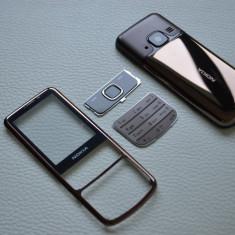 Carcasa Nokia 6700 Classic Clasic Noua Metalica Completa Maro Bronze Saphire