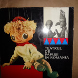Teatrul de papusi in Romania-Iordan Chimet, Letitia Gitza, V.Silvestru - Carte educativa