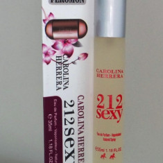 CAROLINA HERRERA 212 SEXY- dama, 35ml. - Parfum femeie Carolina Herrera, Apa de parfum