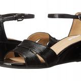Sandale dama - Sandale GEOX Respira, piele naturala lacuita, marimea 39