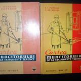 Carte tehnica - V.I.Popescu, Cartea muncitorului de la tratamente termice (2 editii)