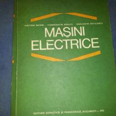 Carte tehnica - NASTASE BICHIR--MASINI ELECTRICE