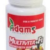 Vitamine/Minerale - Multivita+Fe 30tb Adams Vision