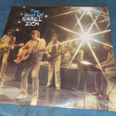 DISC VINIL THE BEST OF KAREL ZICH - Muzica Rock & Roll