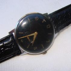 Ceas de mana elvetian marca OMIKRON, Montre Ancre, stare functionala - Ceas barbatesc, Elegant, Mecanic-Manual, Analog, 1940 - 1969
