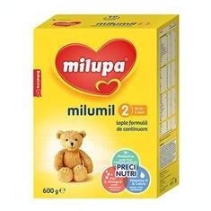 Milumil 2 Lapte de Continuare 6-9 Luni 600gr Cod: 5900852997600