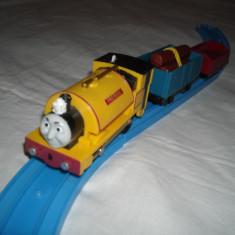 Tomy - Thomas and Friends - Trackmaster - Locomotiva motorizata (cu baterii) PROTEUS - Trenulet de jucarie Tomy, Plastic